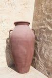Παλαιό αραβικό βάζο Στοκ Εικόνες
