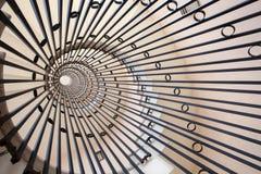 螺旋形楼梯 免版税库存照片