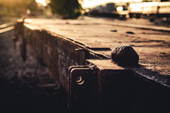 Стиль старого вокзала винтажный Стоковые Фото