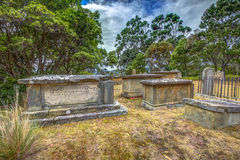 Старые могилы Стоковые Изображения RF