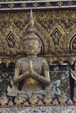 Το μεγάλοι βασιλικοί παλάτι και ο ναός του σμαραγδένιου Βούδα στη Μπανγκόκ Στοκ Εικόνα