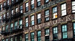 廉价公寓在曼哈顿,纽约 库存照片