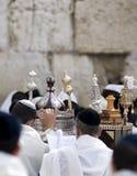 молитва еврейской пасхи Стоковые Изображения