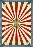 减速火箭的海报爱国背景 免版税库存图片