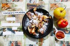 Αυστριακή τηγανίτα Στοκ φωτογραφία με δικαίωμα ελεύθερης χρήσης