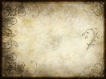 蔓藤花纹设计纸张 免版税库存图片