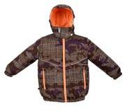被隔绝的温暖的夹克 库存照片