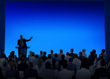 Концепция команды семинара встречи бизнес-конференции Стоковые Фото