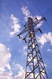 电定向塔 免版税库存照片