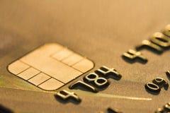 абстрактное голубое фото кредита карточки Стоковые Фотографии RF