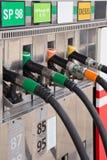 Ακροφύσια αντλιών αερίου Στοκ εικόνες με δικαίωμα ελεύθερης χρήσης