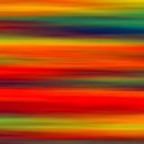 五颜六色的水平的抽象派背景 艺术性的红色青绿的黄色被弄脏的水彩作用 最小的创造性的设计 免版税库存照片