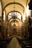 在墨西哥米格尔・圣里面的教会弗朗西斯科 免版税库存照片