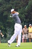 高尔夫球运动员塞尔焦加西亚 图库摄影