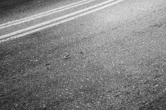 汽车运输背景,双重界线 免版税库存图片