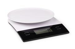 Масштаб кухни цифров Стоковые Изображения RF