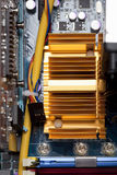 Υπολογιστής, πίνακας κυκλωμάτων Στοκ Φωτογραφία