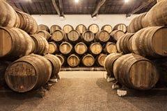 葡萄酒库,波尔图 免版税库存图片