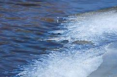 Край льда Стоковые Фото
