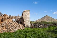 废墟 库存照片