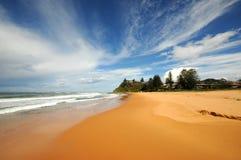 Пляж Сидней Ньюпорта Стоковое фото RF