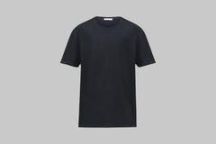 黑色衬衣 免版税库存图片