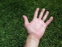 άνθρωπος χεριών Στοκ εικόνα με δικαίωμα ελεύθερης χρήσης