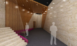Δωμάτιο σαλονιών Στοκ φωτογραφία με δικαίωμα ελεύθερης χρήσης