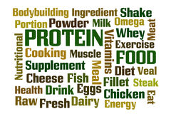 蛋白质 免版税图库摄影