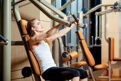 体育、健身、生活方式和人概念- 免版税图库摄影