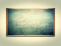 绿色粉笔板 免版税库存图片