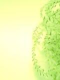 Абстрактная флористическая текстура предпосылки желтого зеленого цвета Стоковое фото RF