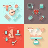 怀孕设计观念 图库摄影