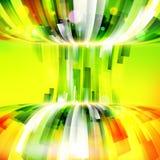Αφηρημένο ενεργειακό πλαίσιο στο φωτεινό θερινό υπόβαθρο Στοκ Εικόνες