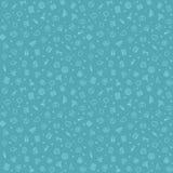 蓝色无缝的医疗样式 库存图片