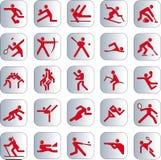 体育运动图标 库存照片