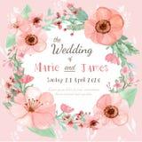 белизна венчания вектора приглашения чертежей карточки предпосылки Стоковое Фото