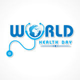 День здоровья мира Стоковые Фотографии RF