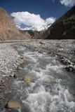 喜马拉雅山场面 免版税库存照片