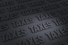 税背景 库存照片