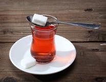 Τουρκικό τσάι Στοκ Εικόνες