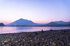 日出湄公河 图库摄影