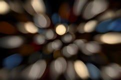 фокус освещает вне Стоковое Изображение RF
