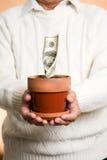принципиальная схема дела финансовохозяйственная Стоковая Фотография RF