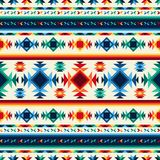 Φυλετικό αφηρημένο άνευ ραφής σχέδιο αζτέκικα γεωμετρικά Στοκ εικόνα με δικαίωμα ελεύθερης χρήσης