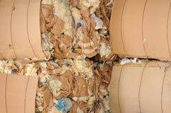 纸废物 免版税库存照片