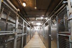 电箱子走廊 库存照片