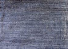 текстура джинсыов ткани детали джинсовой ткани хлопка Стоковые Фото