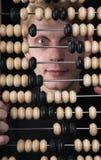 λογιστής αβάκων Στοκ φωτογραφία με δικαίωμα ελεύθερης χρήσης