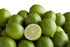 свежие зеленые известки Стоковая Фотография RF